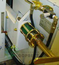 Механическое натяжение пилы hp12